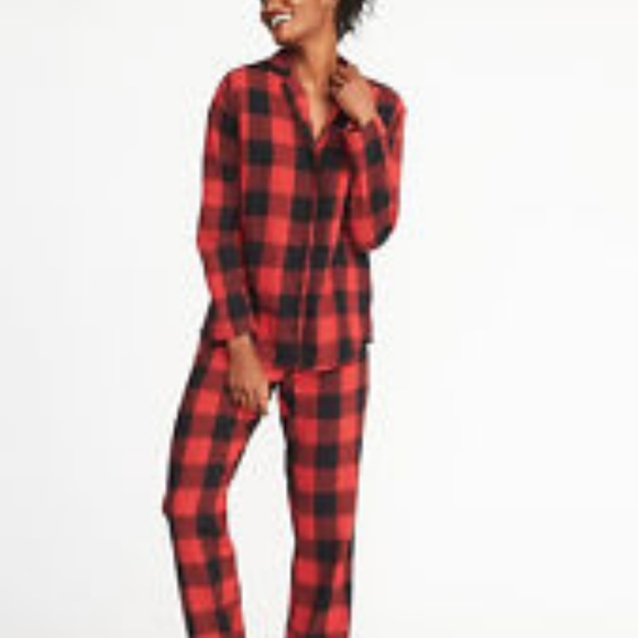 2b68935db1 Old Navy Checkered Black and Red Flannel PJ Pants.  M 5abdc223a4c485af07248d4c